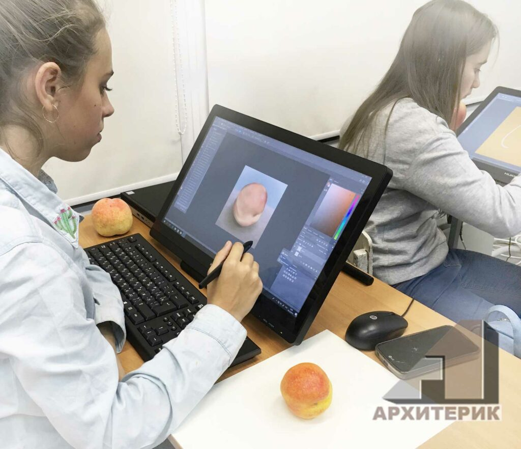 Фото курс цифровой графики студии Архитерик Эллы Мехович