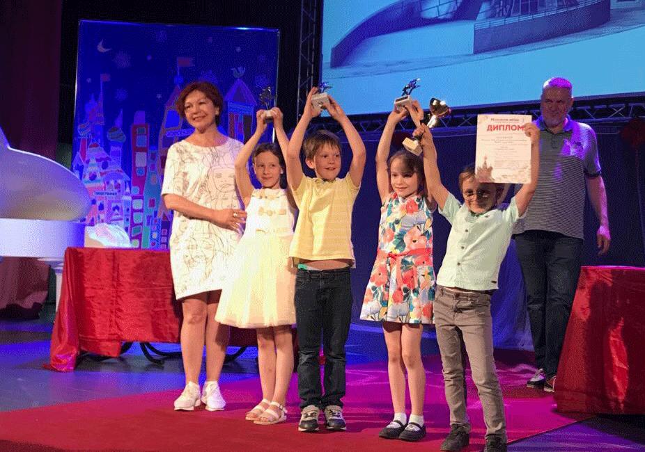 Фото с ГРАН-ПРИ на фестивале Московские звёзды в номинации Архитектура и Дизайн