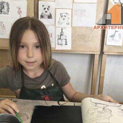 Фото детский летний интенсив, студия Архитерик, Архитектура для детей