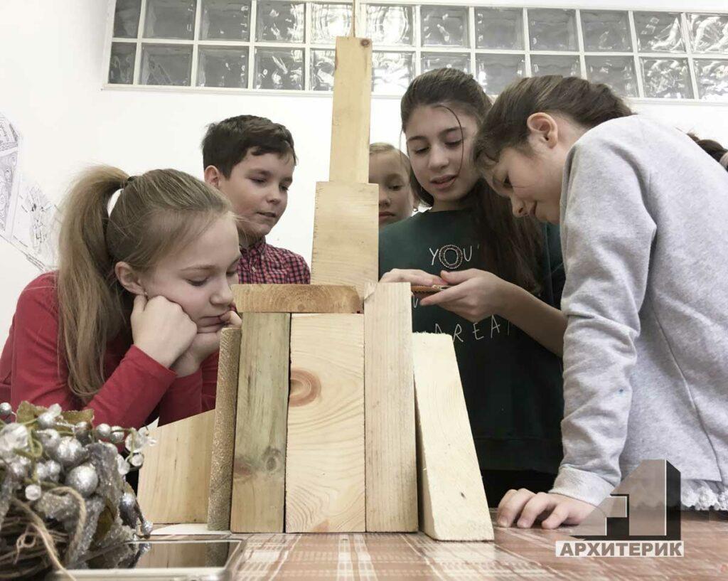Фото детское макетирование, студия Архитерик, Архитектура для детей