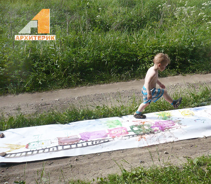 Фото креативный малыш