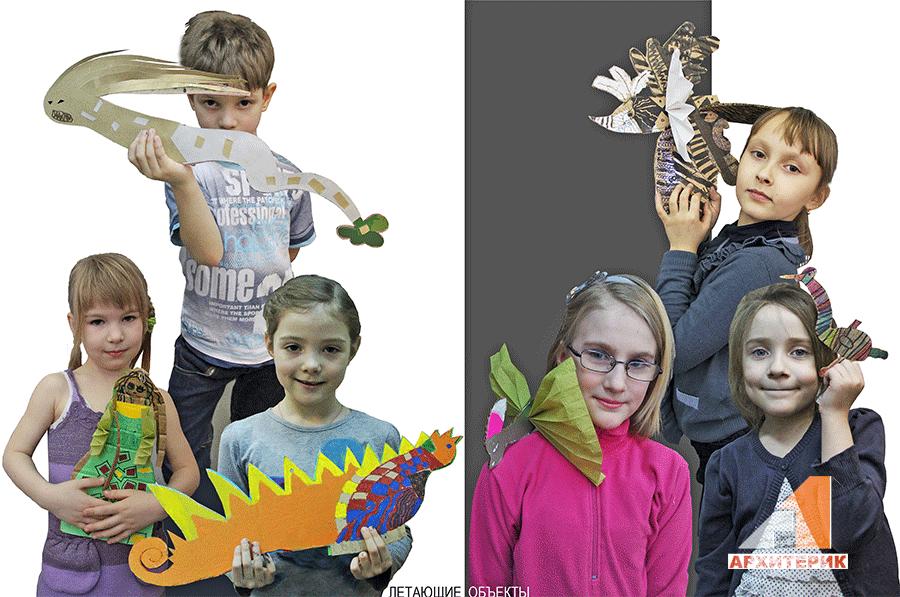 Фото детское макетирование