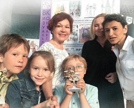 Фото конкурс Московские звезды